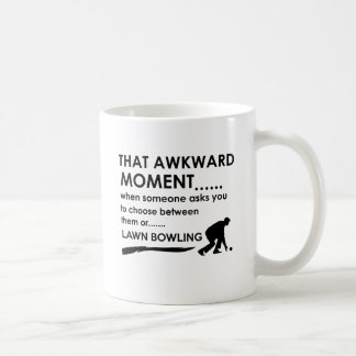 Cool lawn bowl  designs coffee mug