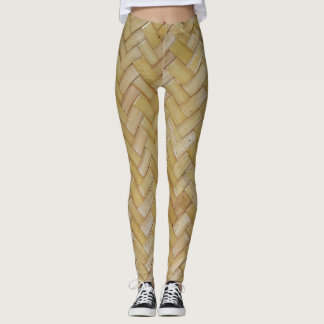 "Cool leggings ""Bamboo plaiting"""