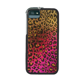 Cool Leopard print skin bright rough background iPhone 5 Cover