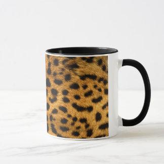 cool leopard skin effect mug