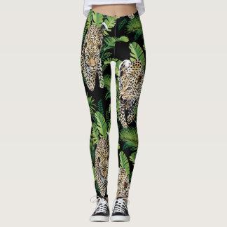 Cool Leopards Pattern leggings