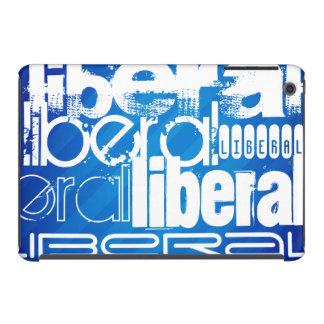 Cool Liberal; Royal Blue Stripes iPad Mini Retina Cases
