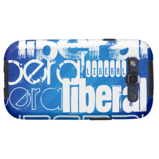 Cool Liberal; Royal Blue Stripes Samsung Galaxy SIII Cases