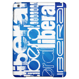 Cool Liberal; Royal Blue Stripes Cover For iPad Air