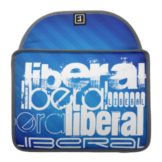 Cool Liberal; Royal Blue Stripes MacBook Pro Sleeve