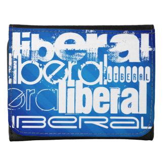 Cool Liberal; Royal Blue Stripes Wallets