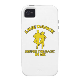 cool Line dance designs iPhone 4 Cases