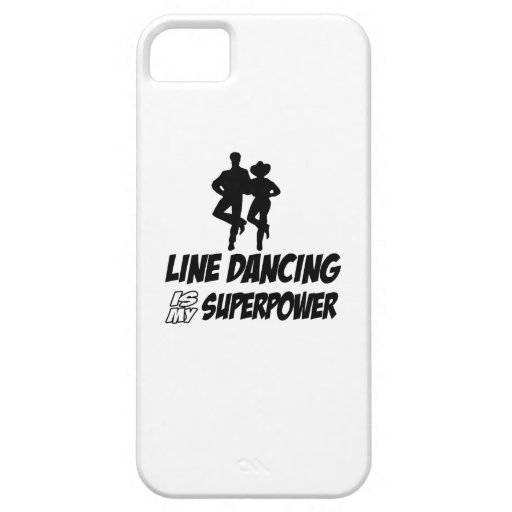 Cool LINE DANCE designs iPhone 5/5S Covers