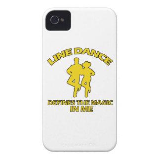 cool Line dance designs iPhone 4 Case