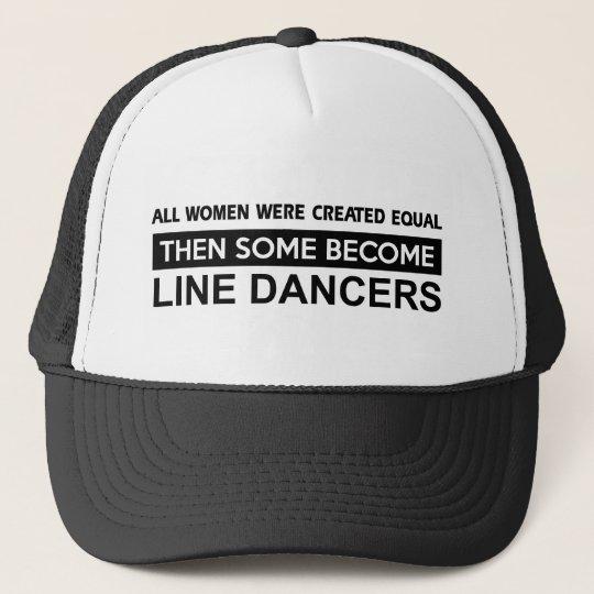 Cool Line Dancing designs Trucker Hat