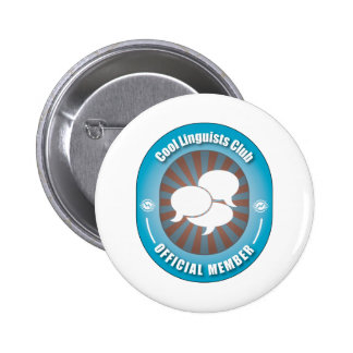 Cool Linguists Club 6 Cm Round Badge