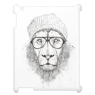 Cool lion (blackandwhite) case for the iPad 2 3 4