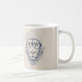 Cool lion coffee mug
