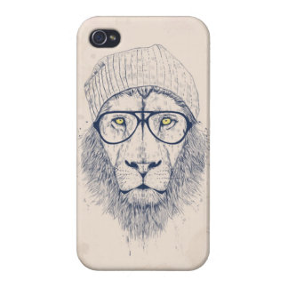 Cool lion cover for iPhone 4