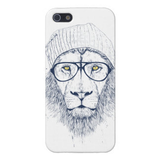 Cool lion (white) iPhone 5 case