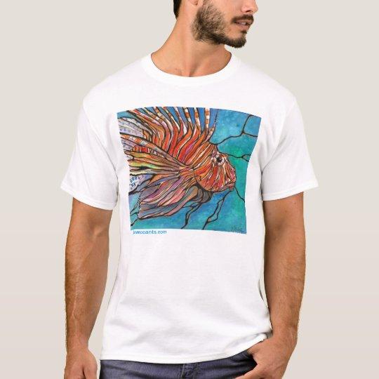 Cool Lionfish Tropical Fish Turkeyfish t-shirt ART