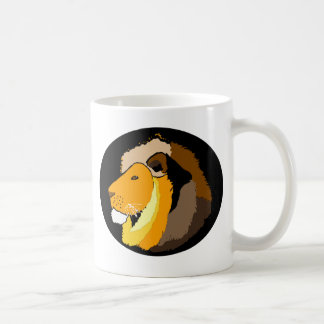 cool lions head art gifts and accessories coffee mug