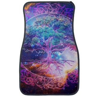 Cool Looking Tree of Life Car Mat