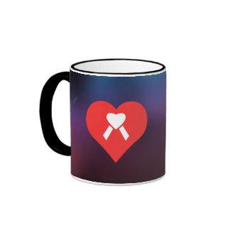 Cool Love Caring Ringer Mug