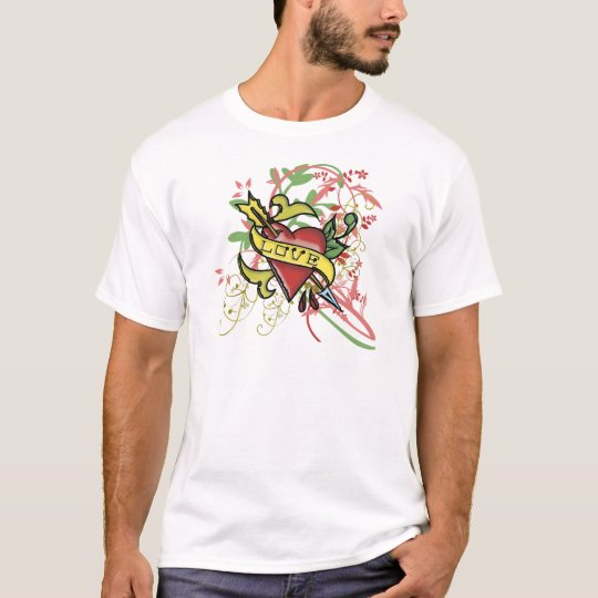 Cool Love Tattoo T-Shirt