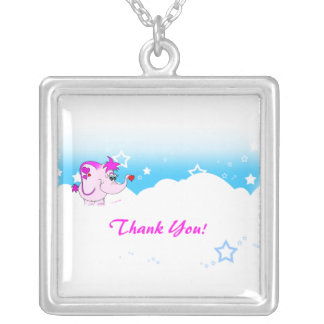 Cool Lucky Pinkie Thank You Necklace