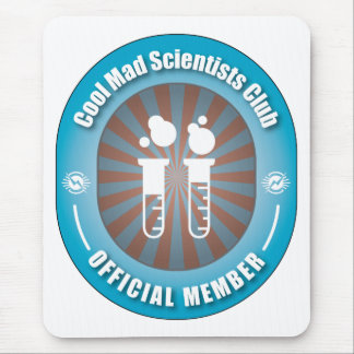 Cool Mad Scientists Club Mouse Pad