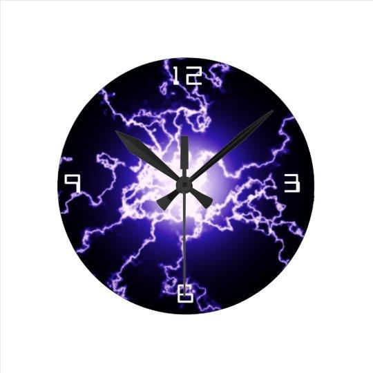 Cool Magic Lightning ball Wall Clocks