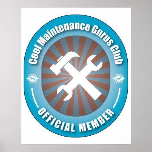 Cool Maintenance Gurus Club Print