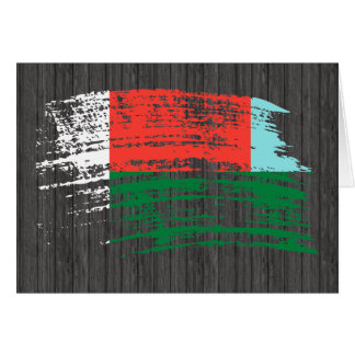 Cool Malagasy flag design Greeting Cards