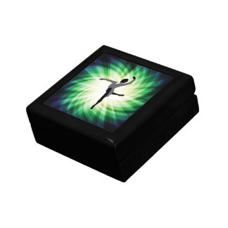 Cool Male Dancer Small Square Gift Box