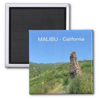 Cool Malibu Magnet! Square Magnet