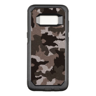 Cool Manly Brown Camo Military Camouflage Pattern OtterBox Commuter Samsung Galaxy S8 Case