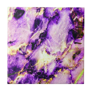 Cool Marble Texture purple pink white Tile