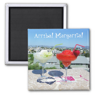 Cool Margaritas Magnet! Square Magnet