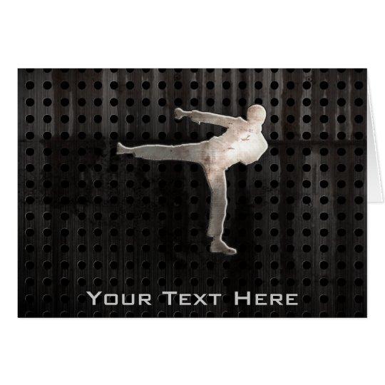 Cool Martial Arts Card