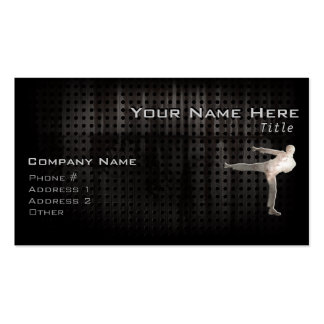 Cool Martial Arts Pack Of Standard Business Cards