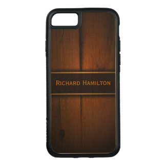 Cool Masculine Baltic Pine Wood Carved® Wooden Carved iPhone 8/7 Case