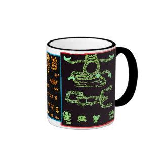 Cool Mayan Designs Coffee Mugs