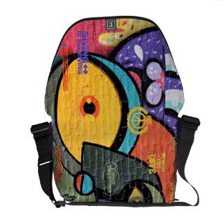 Cool Meaningful Brick Wall Grafitti Art Messenger Bag