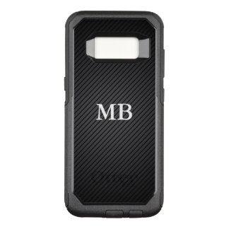 Cool Mens Monogram OtterBox Commuter Samsung Galaxy S8 Case