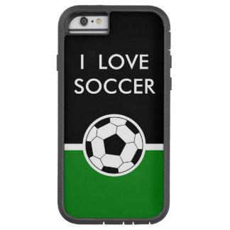 Cool Men's Soccer Sports Tough Xtreme iPhone 6 Case