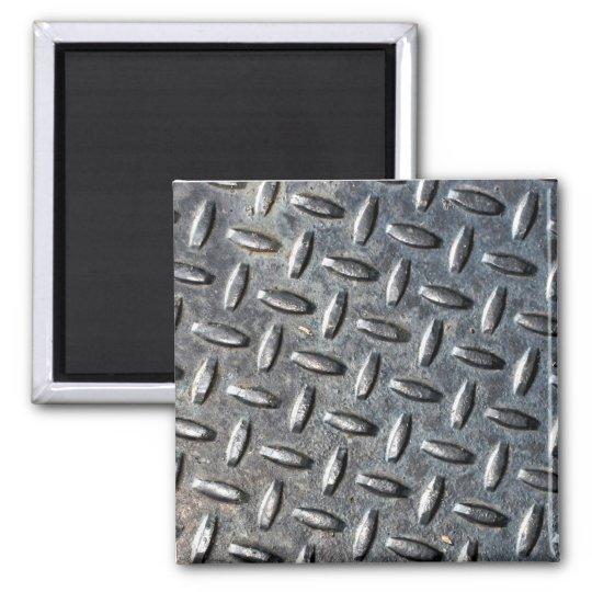 Cool metal texture magnet