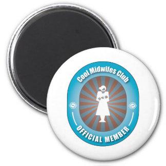 Cool Midwifes Club Fridge Magnet