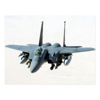cool military aircraft helicopter Black-Hawk f-15 Postcards