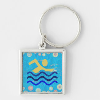 Cool mind in hot times keychains