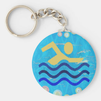 Cool mind in hot times key chain