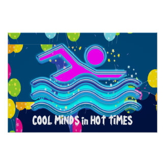 COOL MINDS in HOT TIMES Print