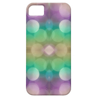 Cool Mint and Grape Glitter Skins iPhone 5 Case