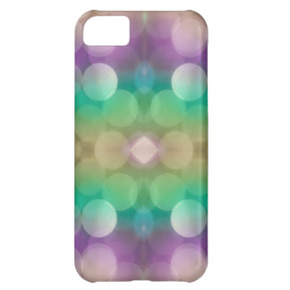 Cool Mint and Grape Glitter Skins iPhone 5C Case