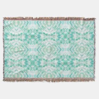 Cool Mint Green Throw Pillow